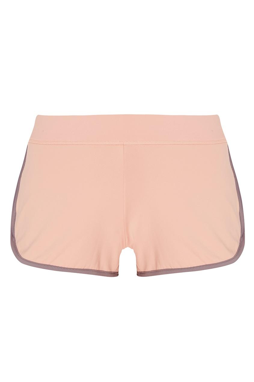 ZASPORT Розовые шорты с окантовками