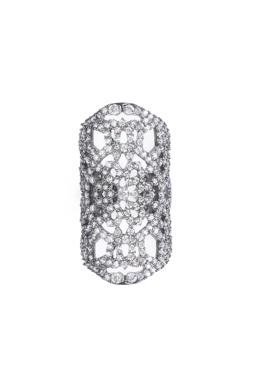 Кольцо из кристаллов