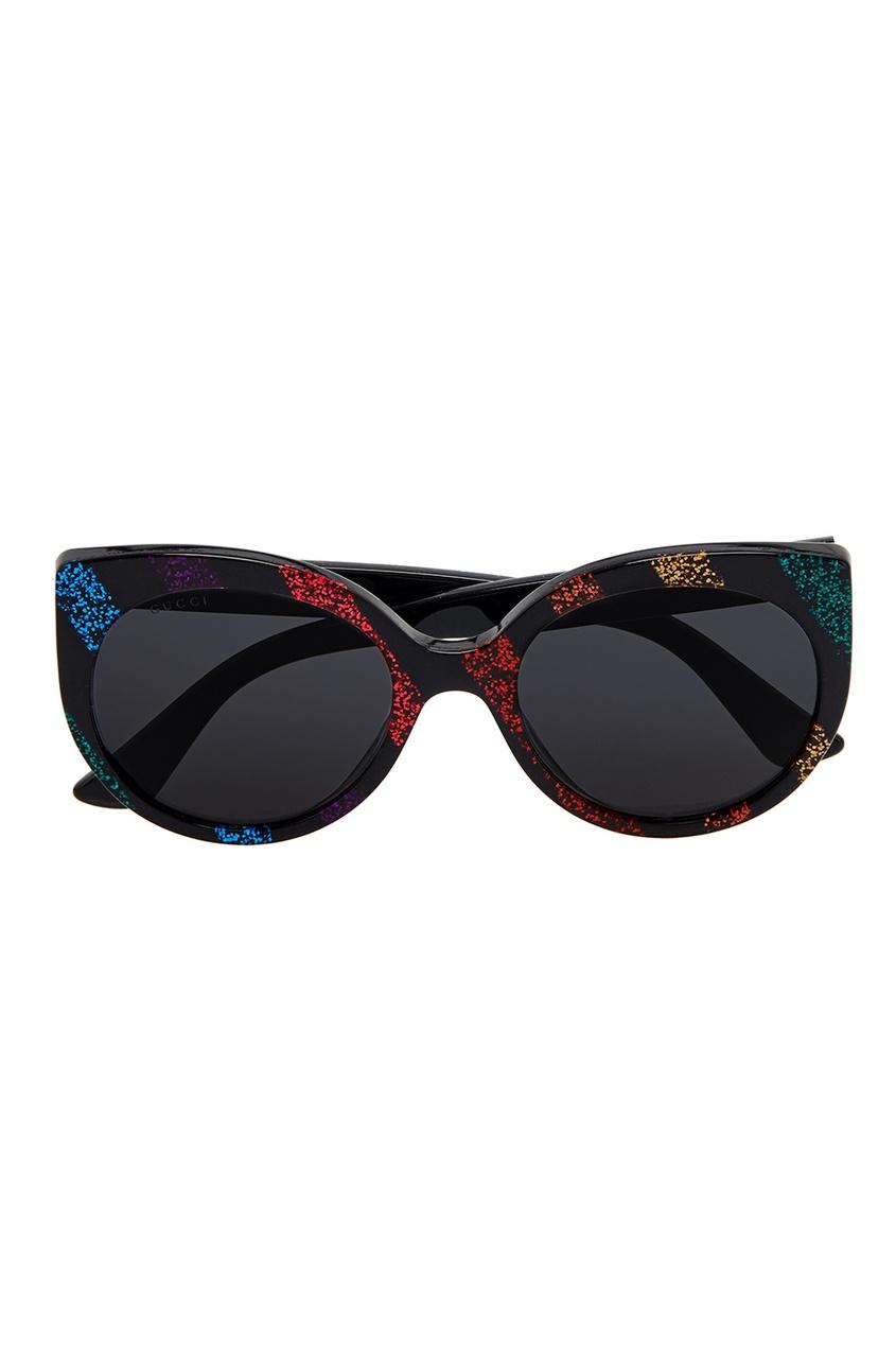 Gucci Солнцезащитные очки  глиттером