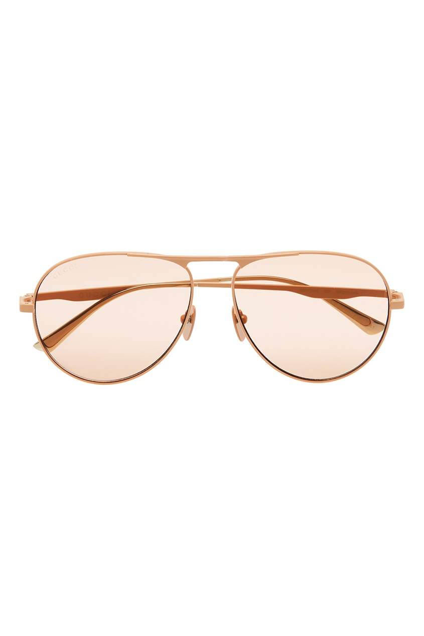 Розовые очки-авиаторы