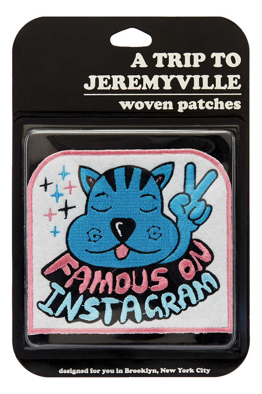 Наклейка Famous on Instagram от Jeremyville