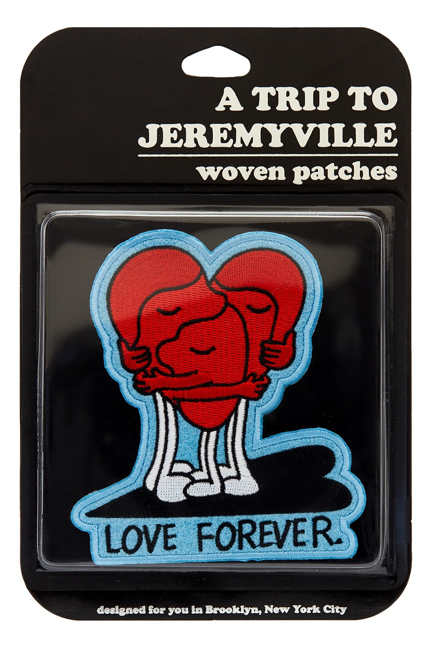 Jeremyville Наклейка Love Forever love you forever