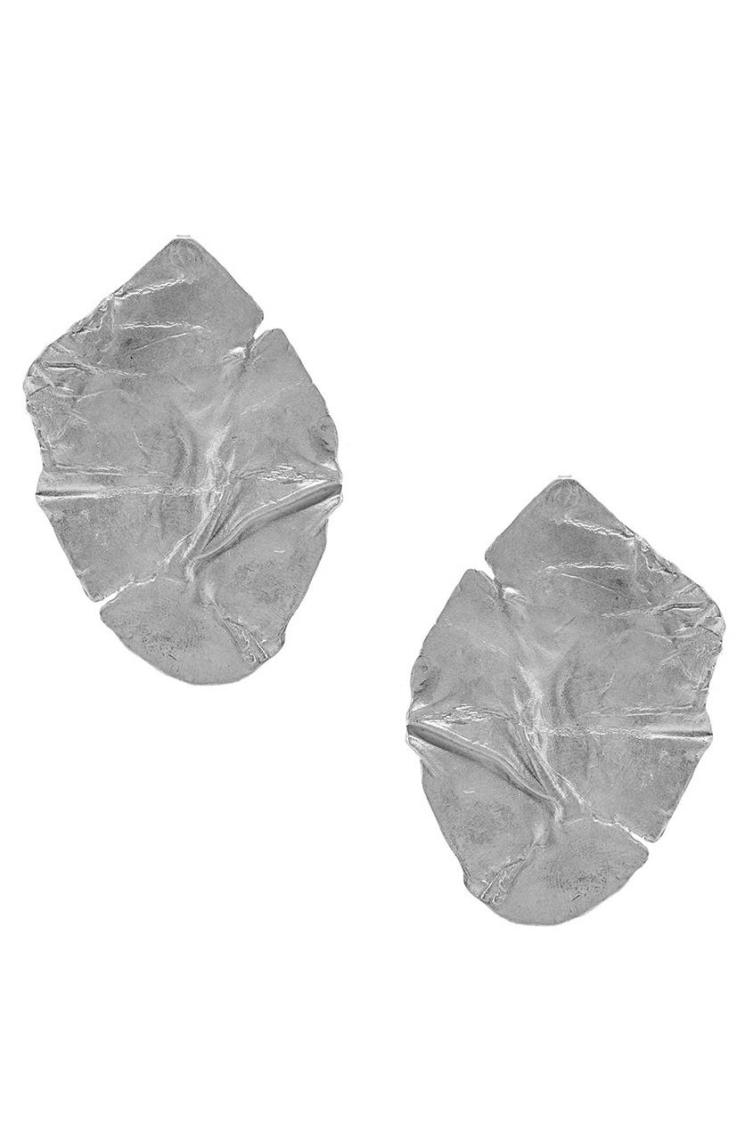 Серебряные серьги Top RINGSTONE