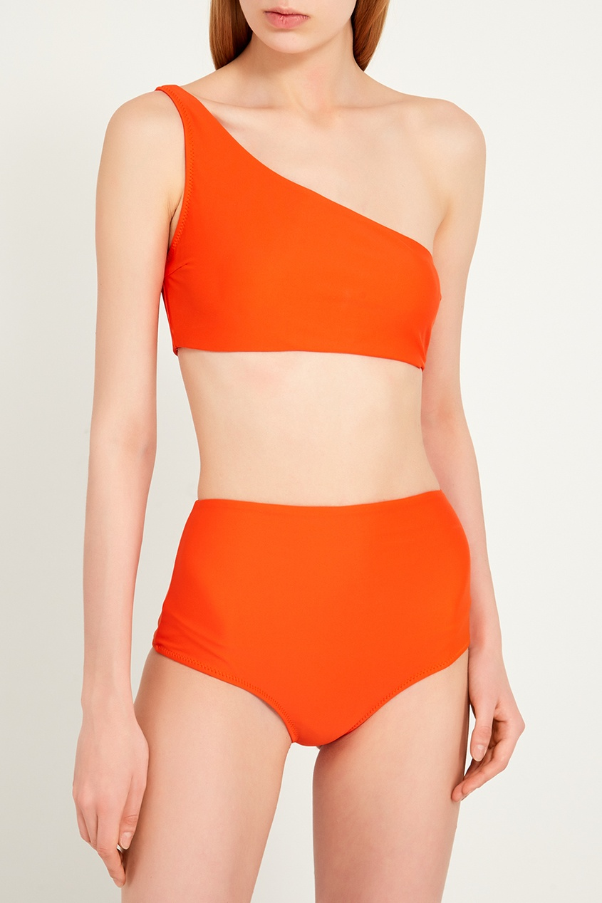 женские бикини bodypoetry, оранжевые