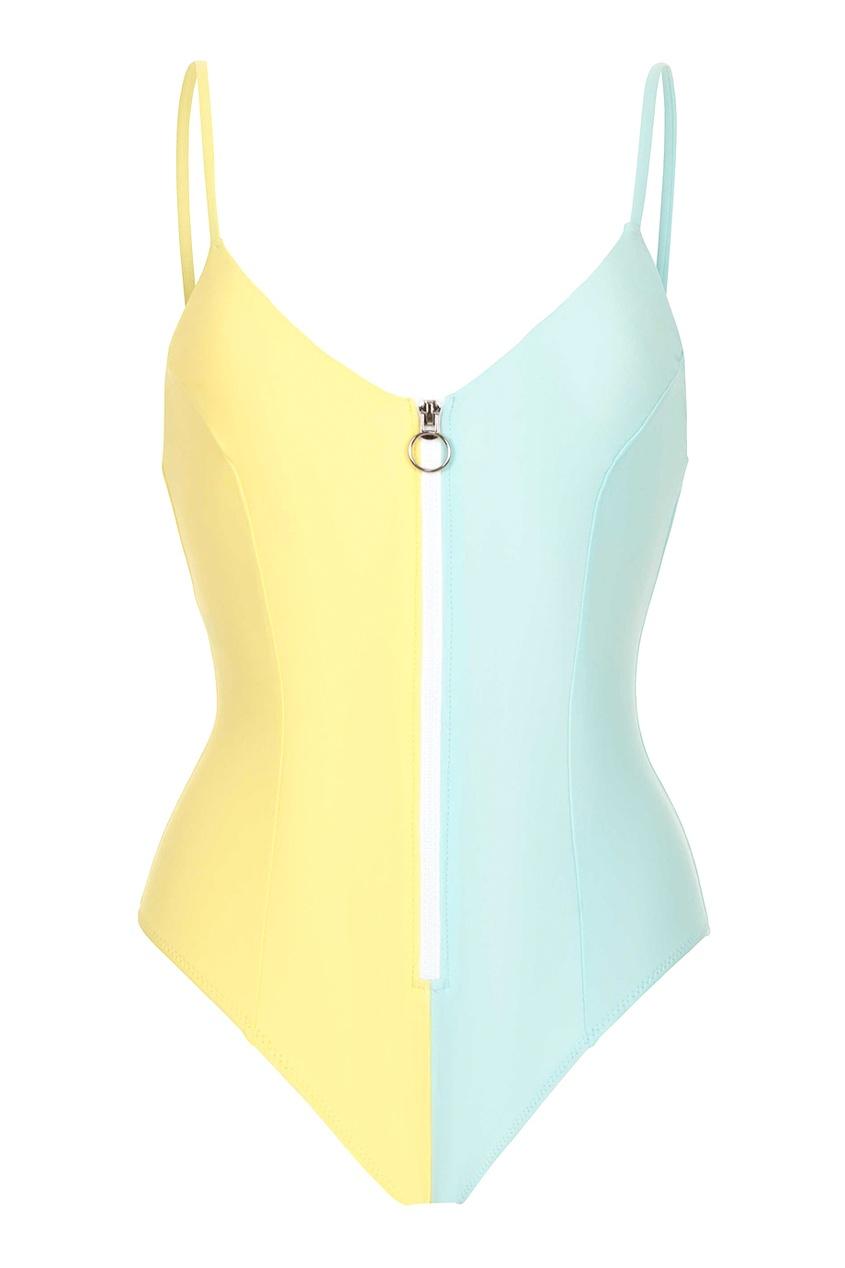 BODYPOETRY Желто-зеленый купальник Maderas bodypoetry купальник maenam