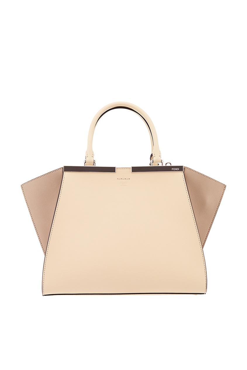 Fendi Бежевая сумка из кожи сумка fendi gebnegozionline79818