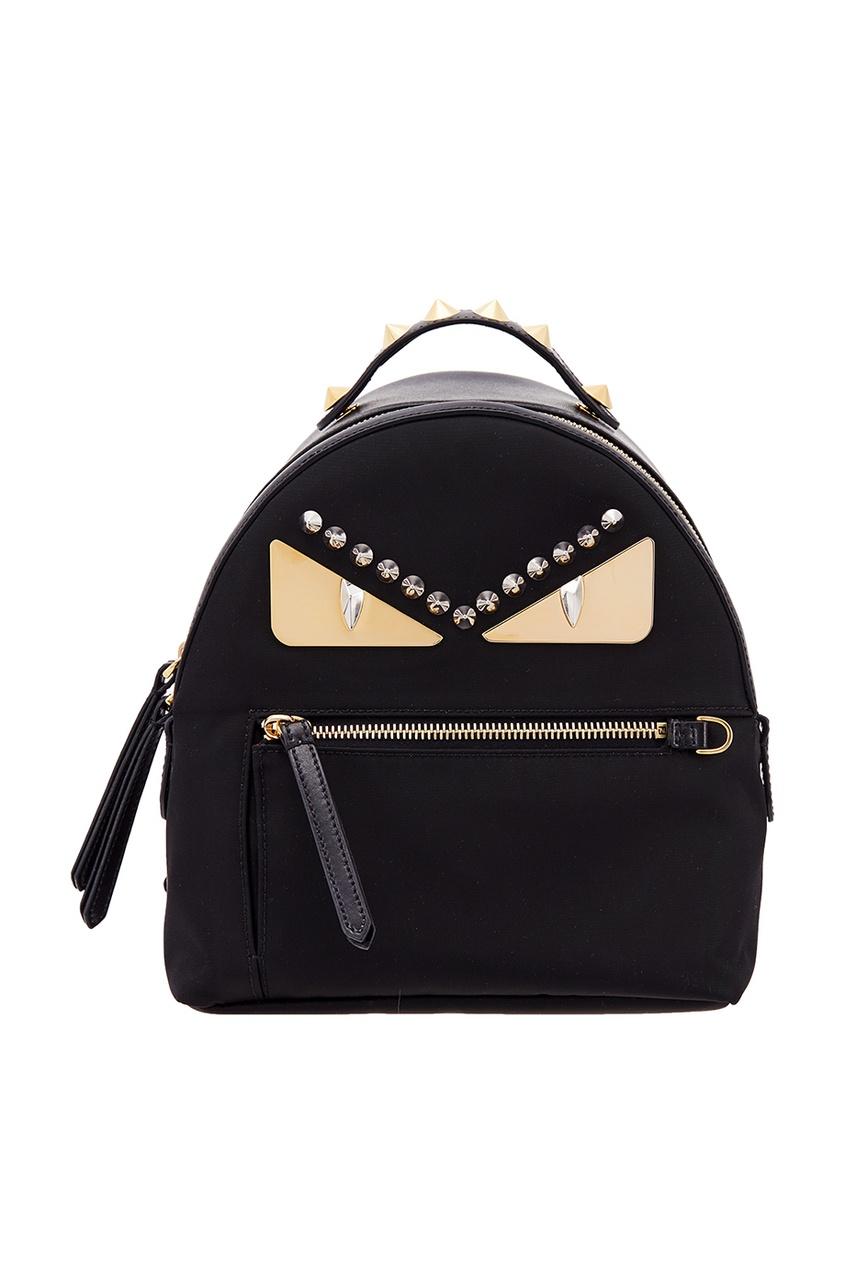женский рюкзак fendi, черный