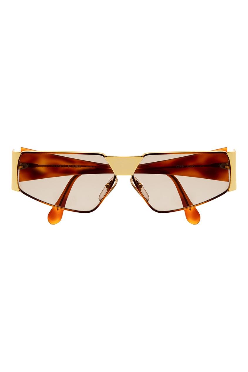 Очки с золотистой отделкой (90е гг)
