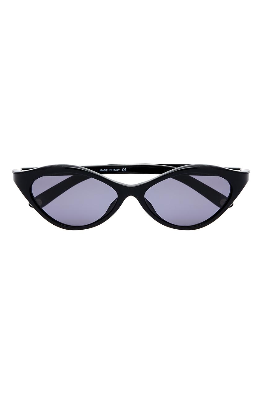 Chanel Vintage Черные солнцезащитные очки (90е гг) солнцезащитные очки chanel 2015 5306b cc