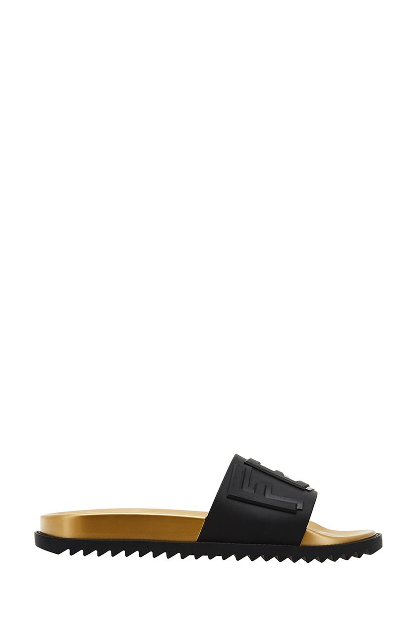 Fendi Шлепанцы с рельефным логотипом