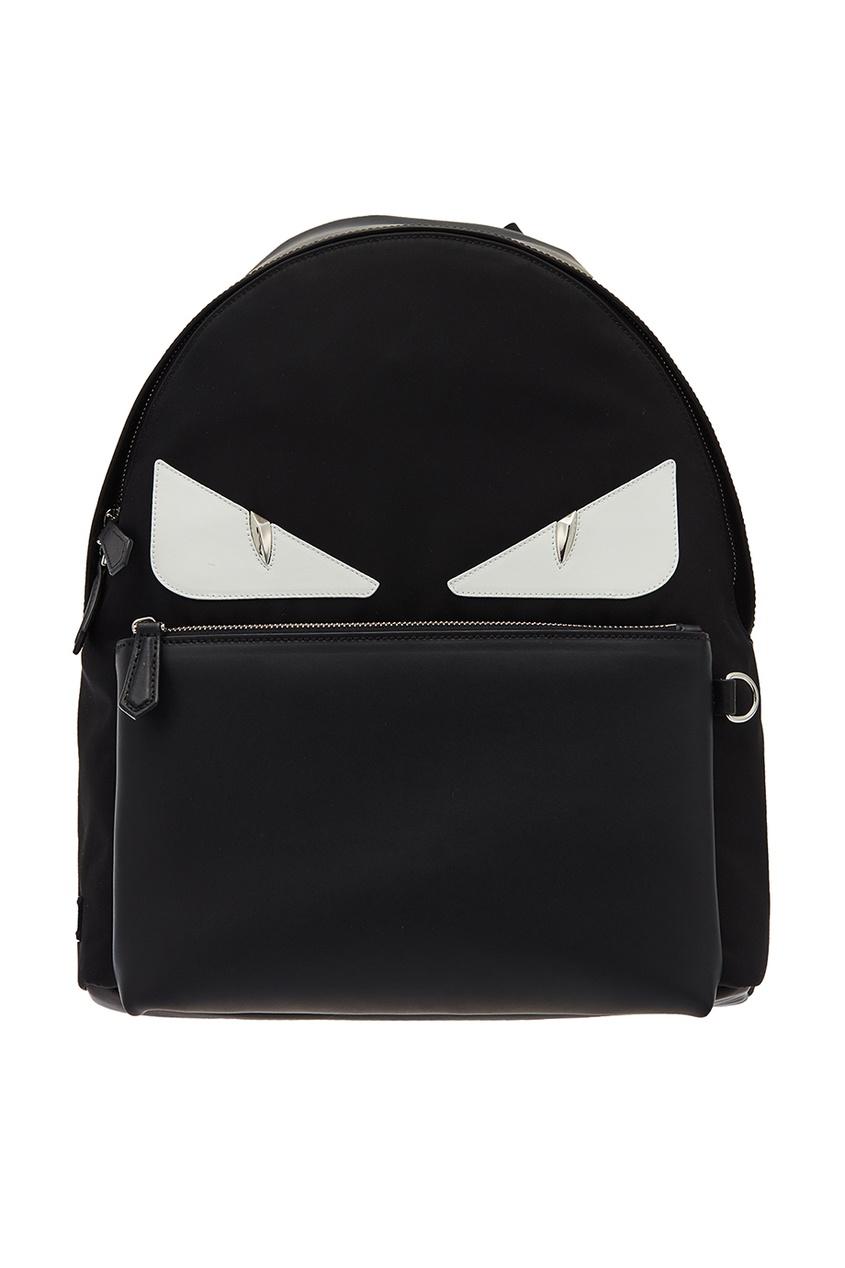 мужской рюкзак fendi, черный