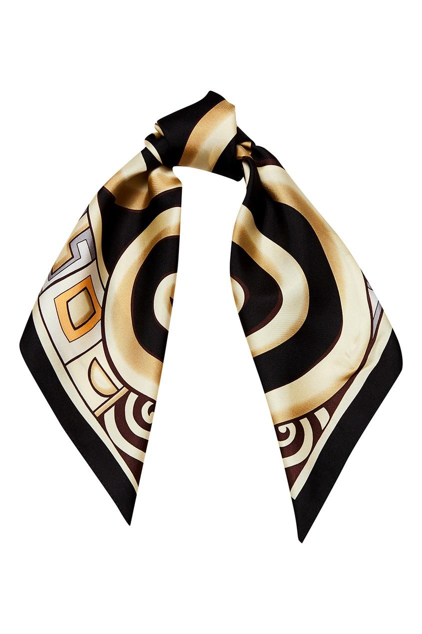 FREYWILLE Шейный платок с абстрактным принтом magnetiq шейный браслет
