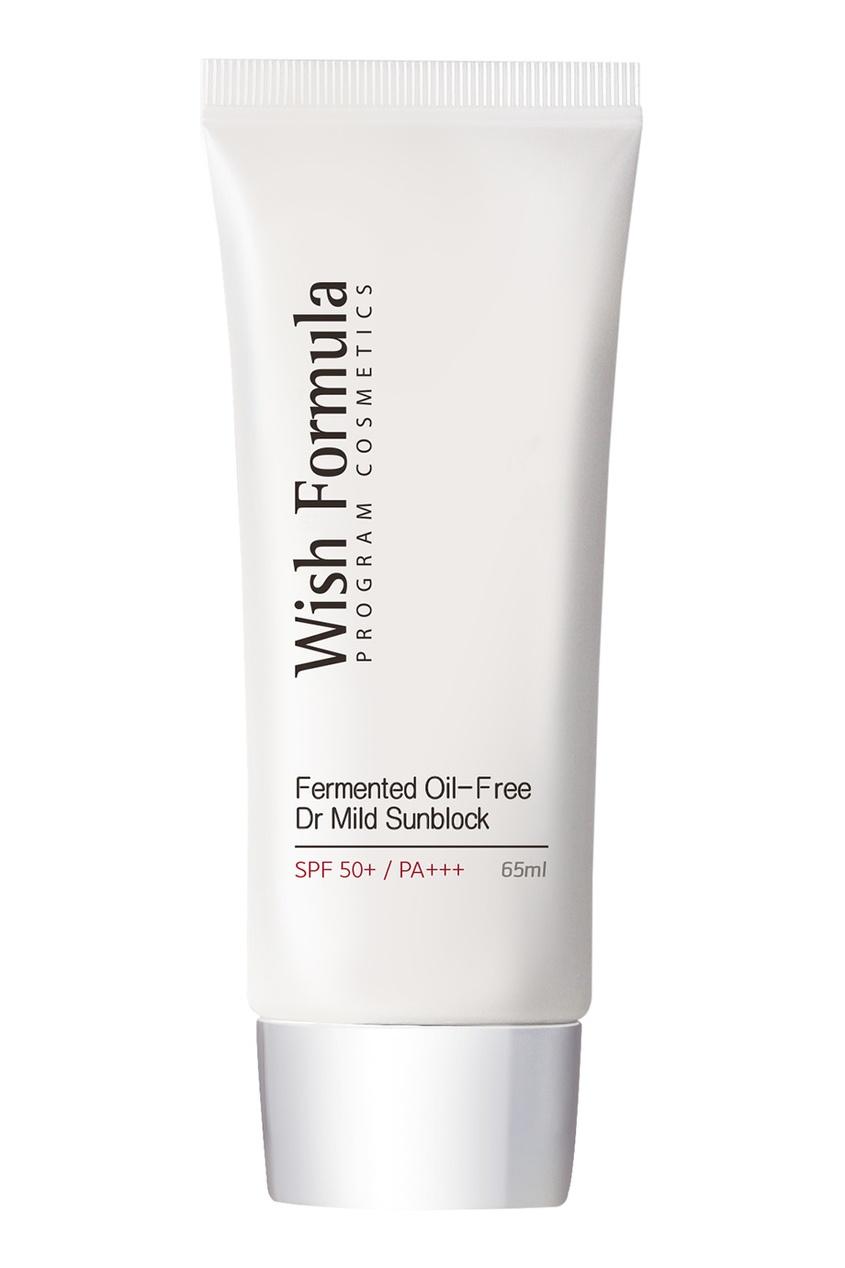 Солнцезащитный крем SPF 50 / Fermented Oil Free Dr Mild Sun Block SPF50+/PA+++, 65ml