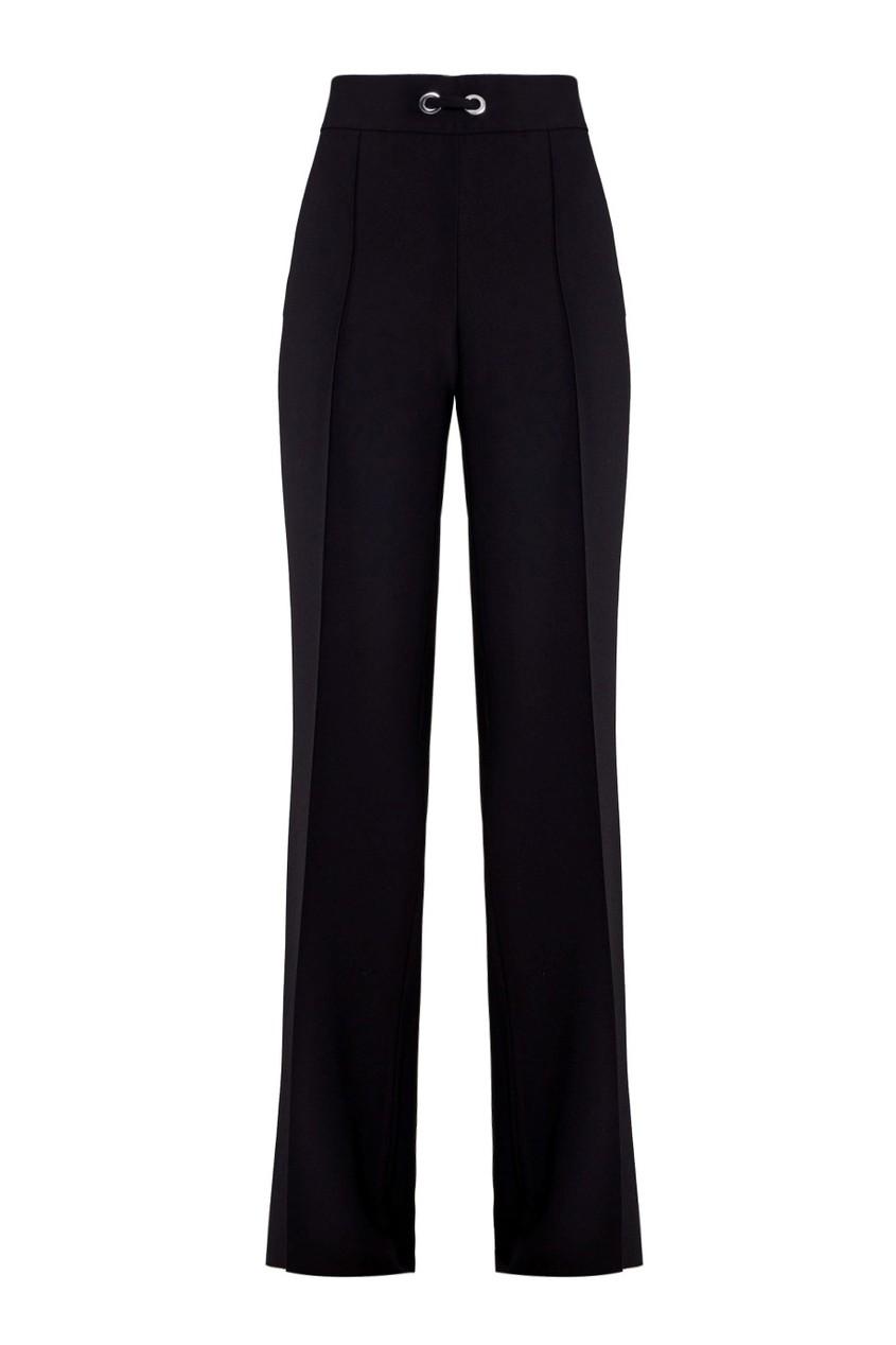 Adolfo Dominguez Широкие черные брюки elizabeth and james широкие брюки