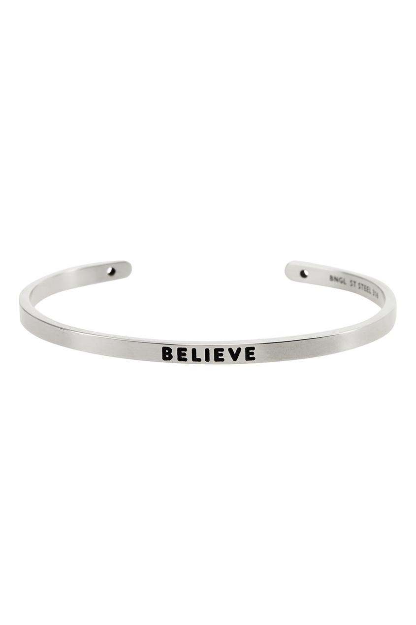 Браслет BNGL с надписью «Believe»