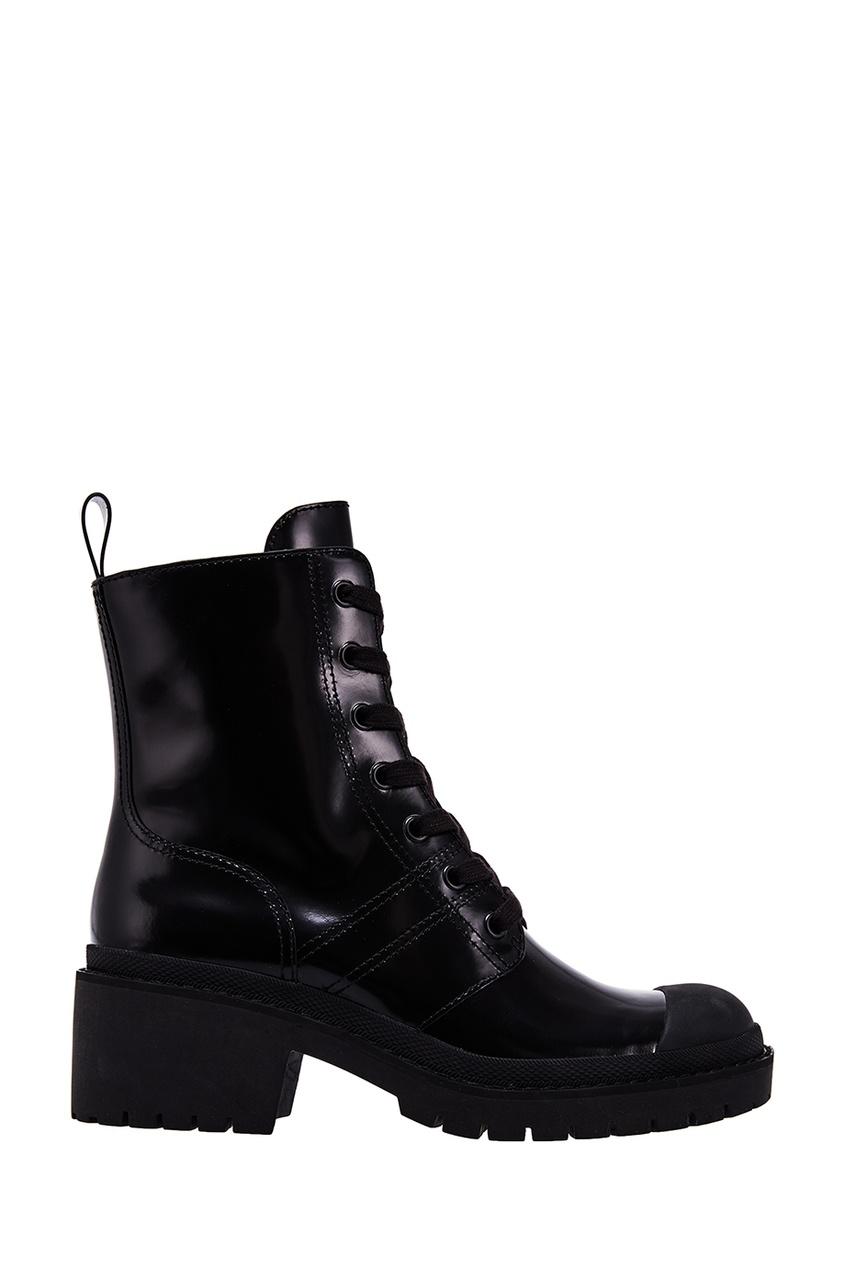 женские ботинки marc jacobs, черные