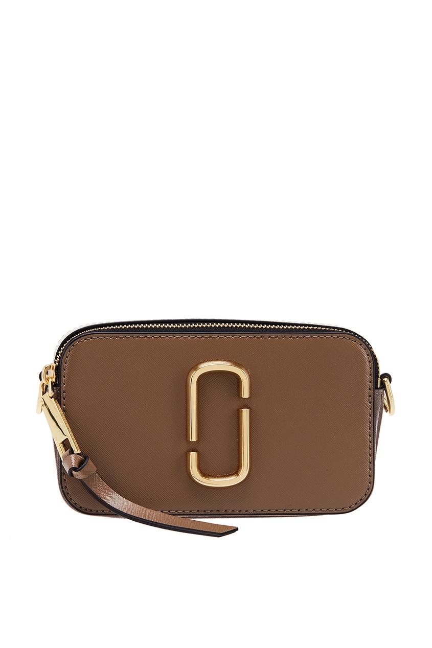 Marc Jacobs Коричневый кожаный клатч клатч galib клатч