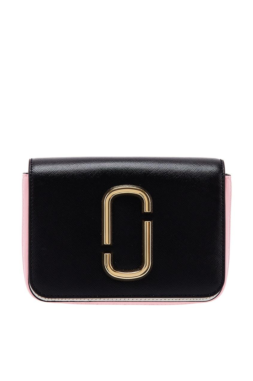 Marc Jacobs Черный клатч с монограммой клатч galib клатч