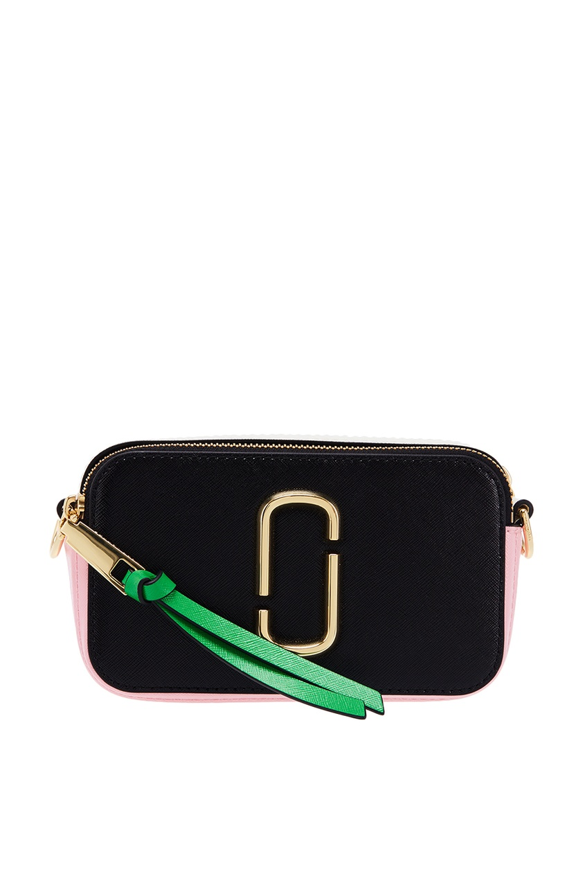 Marc Jacobs Двухцветный клатч с широким ремнем клатч galib клатч