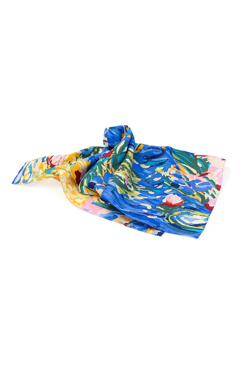 FREYWILLE Шелковый шейный платок magnetiq шейный браслет