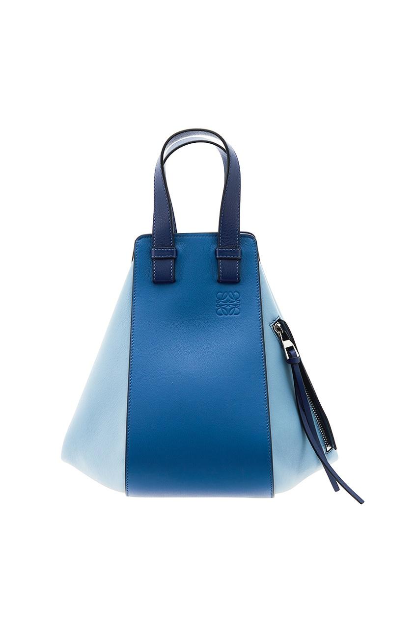 Кожаная сумка с декоративной молнией Hammock