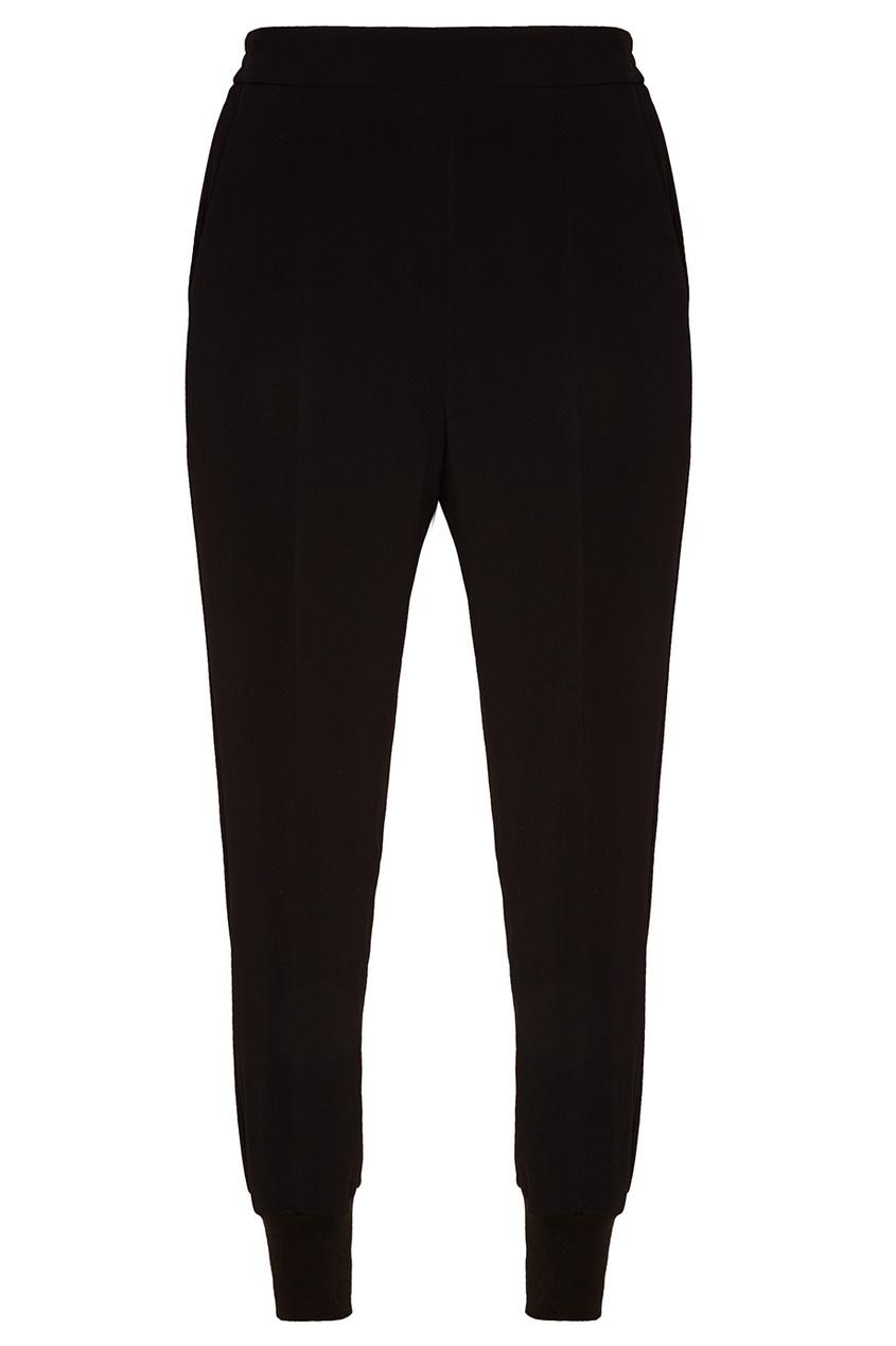Stella McCartney Черные брюки в спортивном стиле