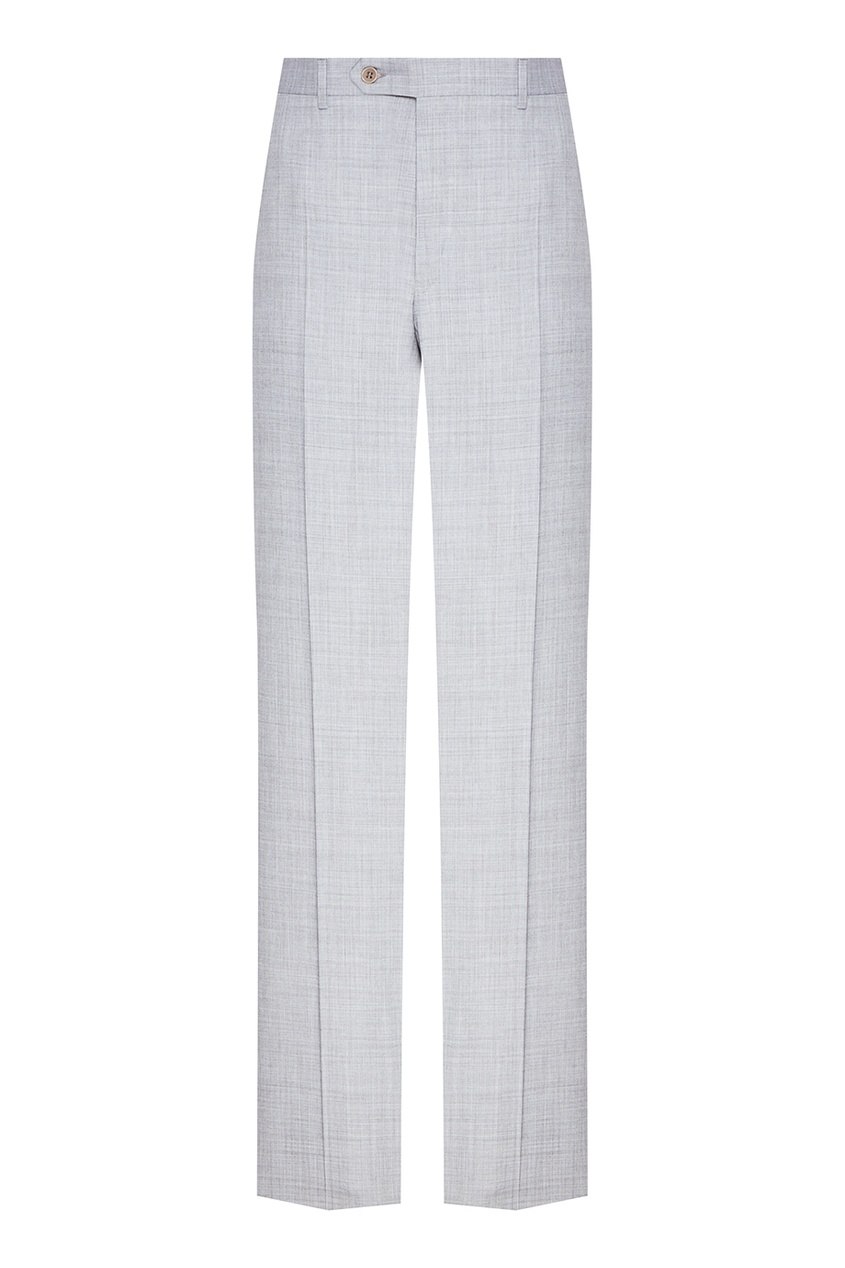 Canali Классические серые брюки шорты классические dc sumner straight blue mirage