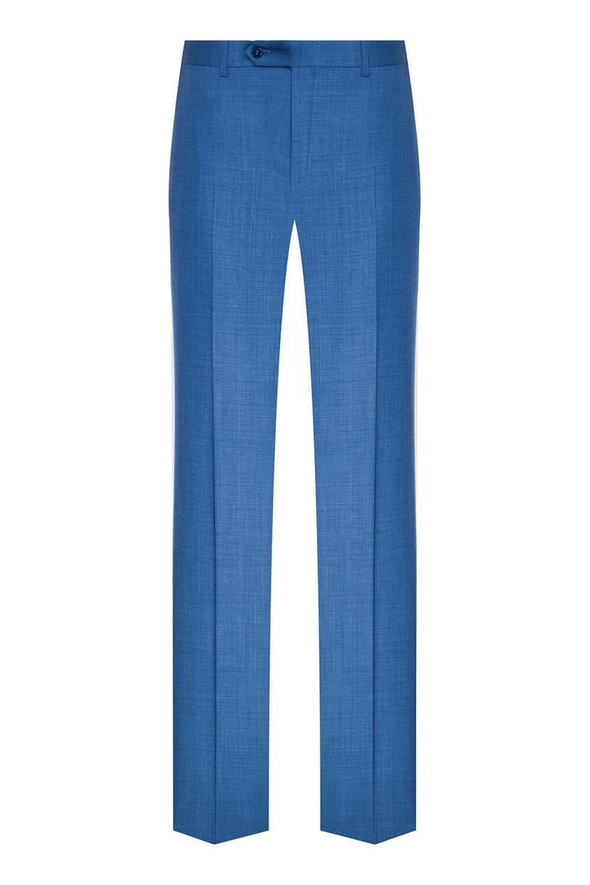 Canali Синие классические брюки шорты классические dc sumner straight blue mirage