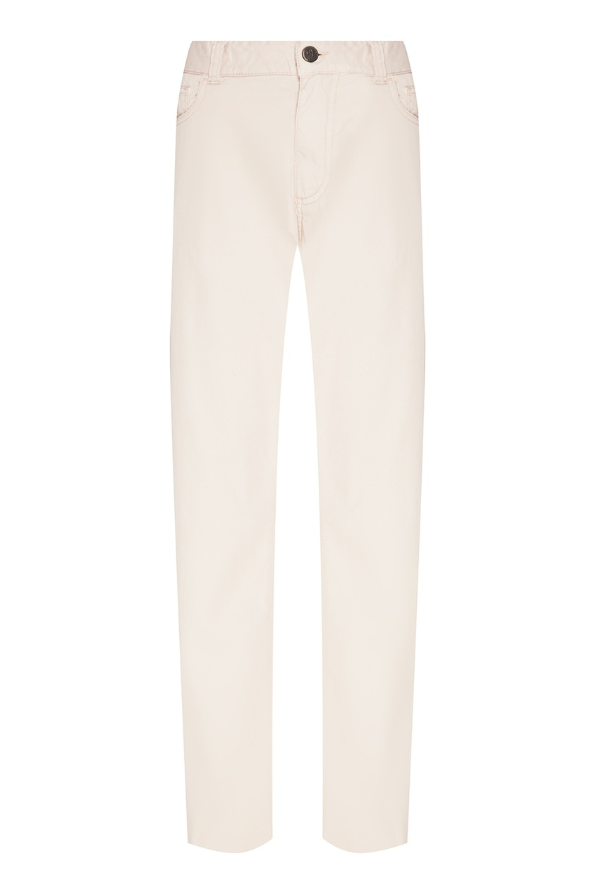 мужские брюки canali, бежевые