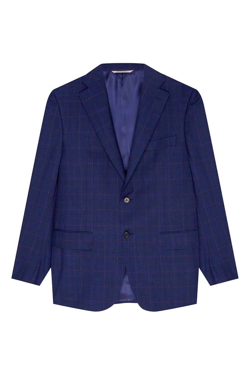Canali Синий костюм-двойка костюм двойка js collections костюм двойка