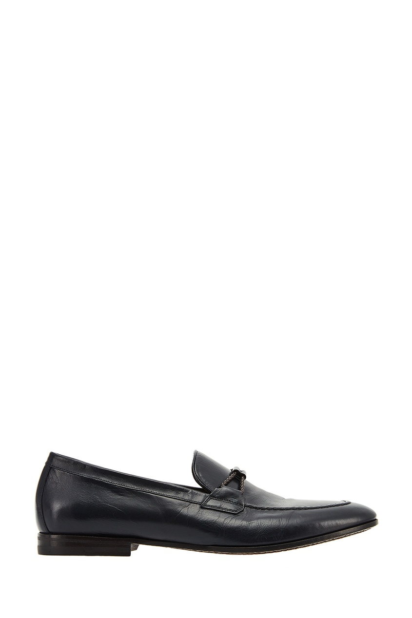 Canali Черные кожаные туфли christian louboutin туфли lady peep 150