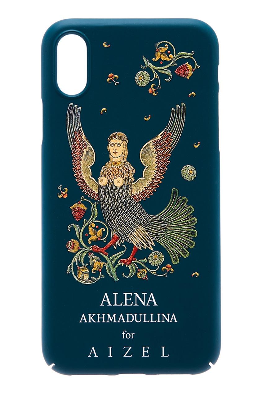 Alena Akhmadullina Зеленый чехол для iPhone X