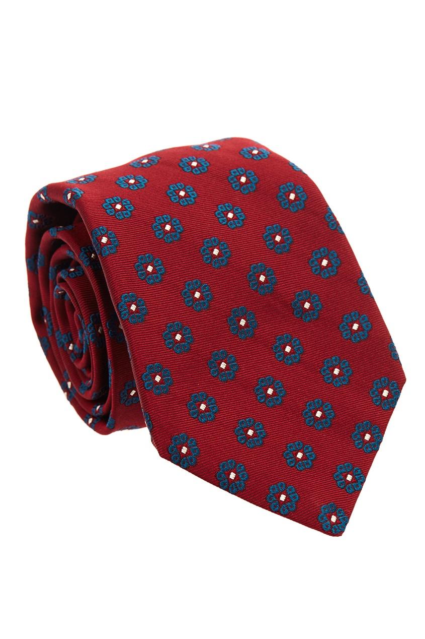 мужские галстуки и бабочки kiton, красные
