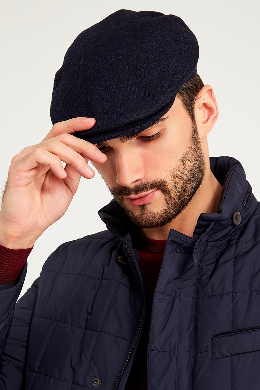 мужская кепка kiton, синяя
