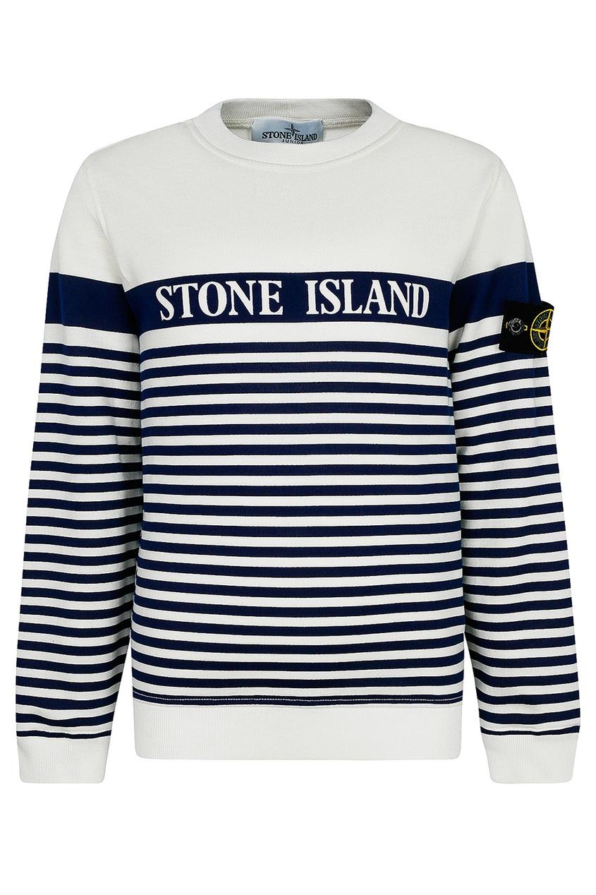 Купить Свитшот в полоску от Stone Island Kids цвет multicolor