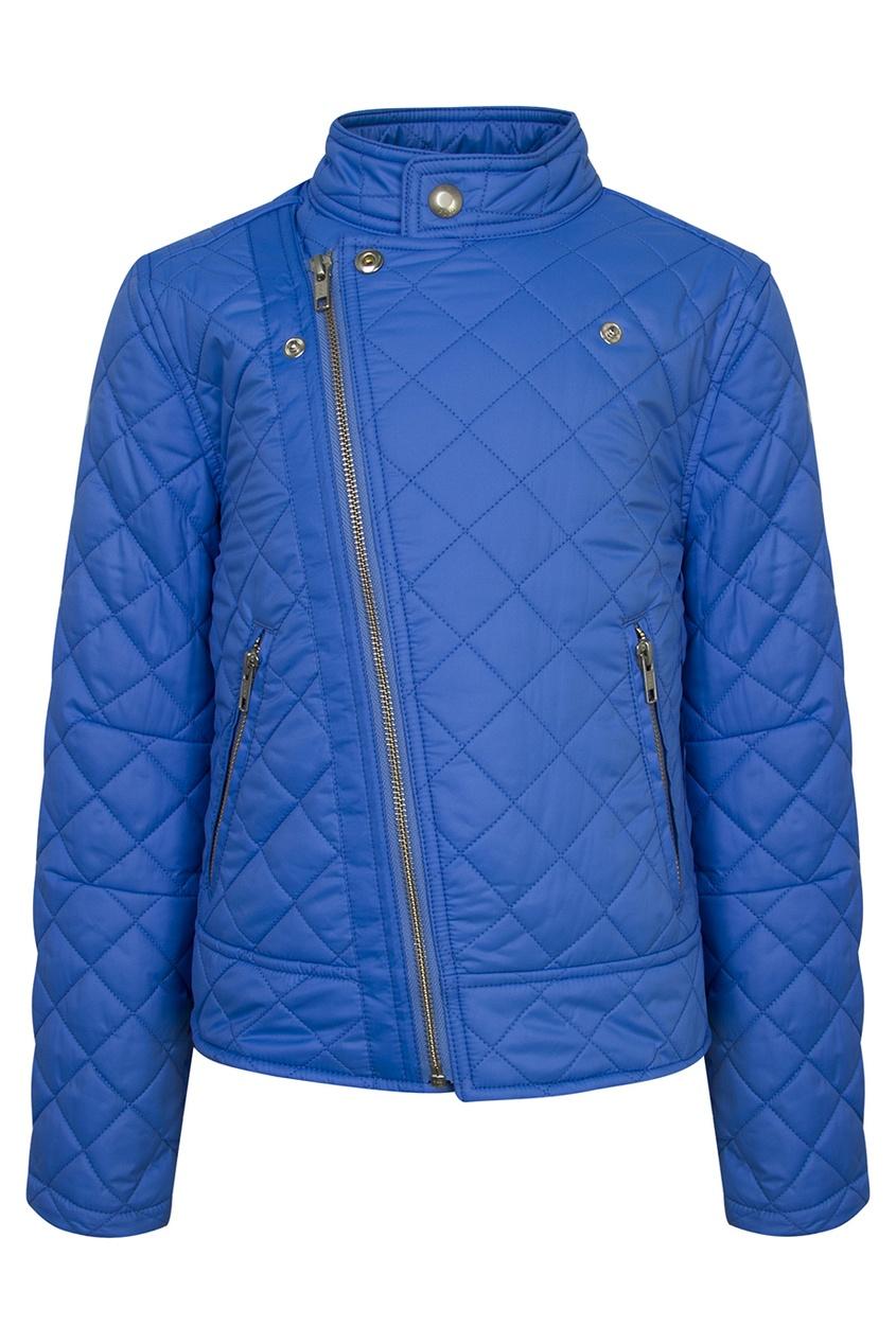 Ralph Lauren Children Голубая стеганая куртка на молнии куртка ralph lauren куртки непромокаемые