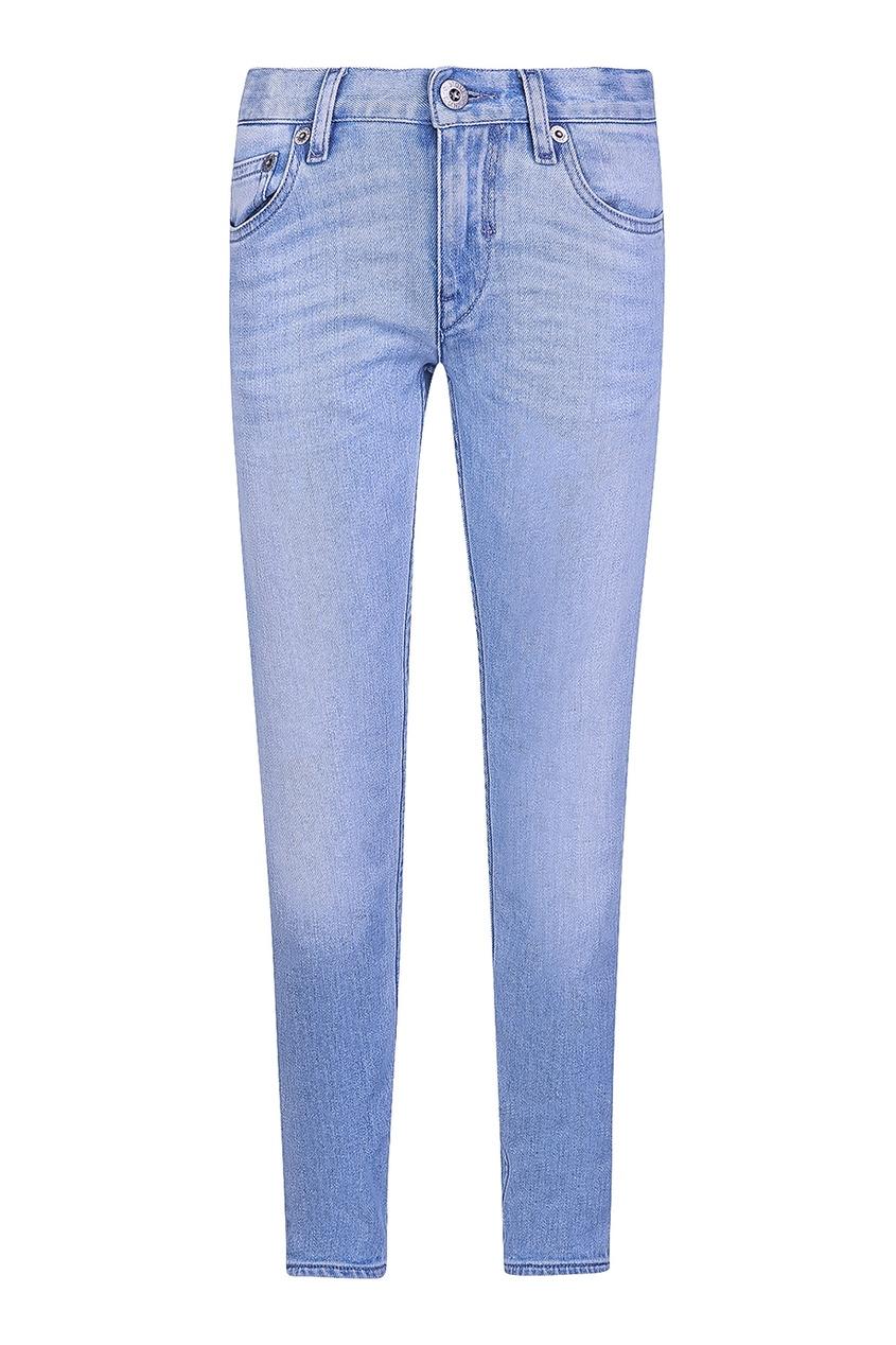 Stone Island Children Голубые джинсы-скинни джинсы скинни длина 32