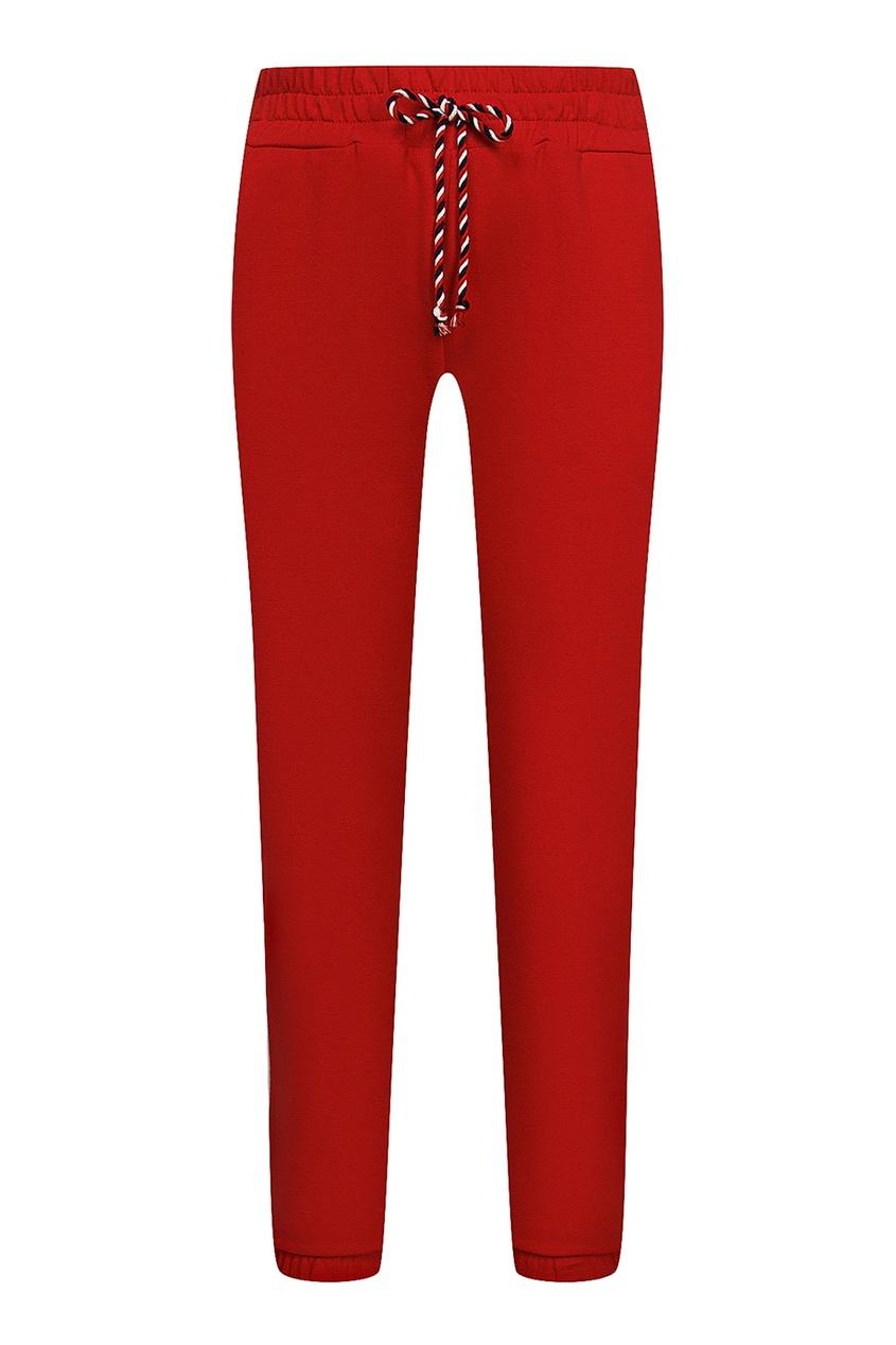 Ermanno Scervino Children Красные трикотажные брюки