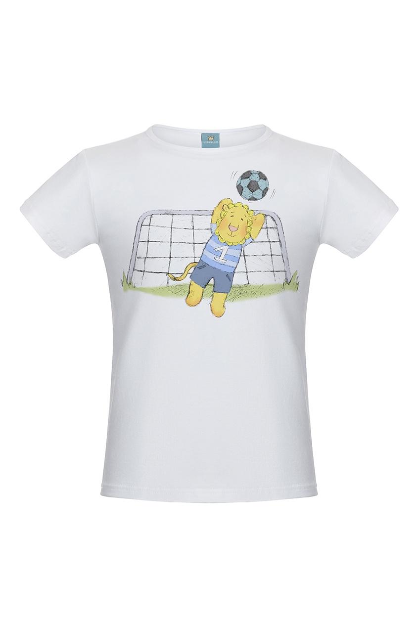 Футболка с принтом
