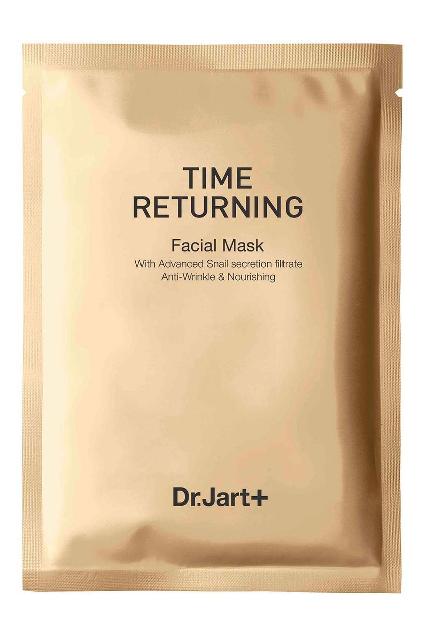 Dr.Jart+ Антивозрастная маска с муцином улитки Time Returning Mask Pack (10х20 g)