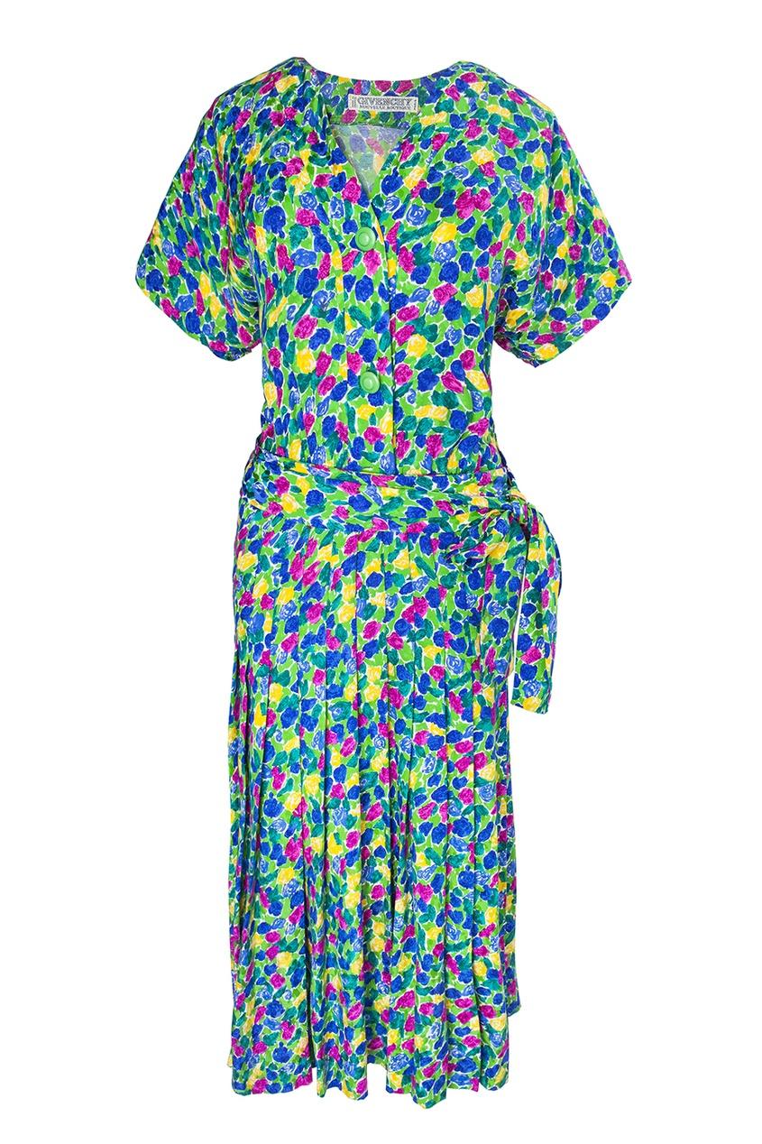 Шелковое платье (70-е гг.) - нет в наличии