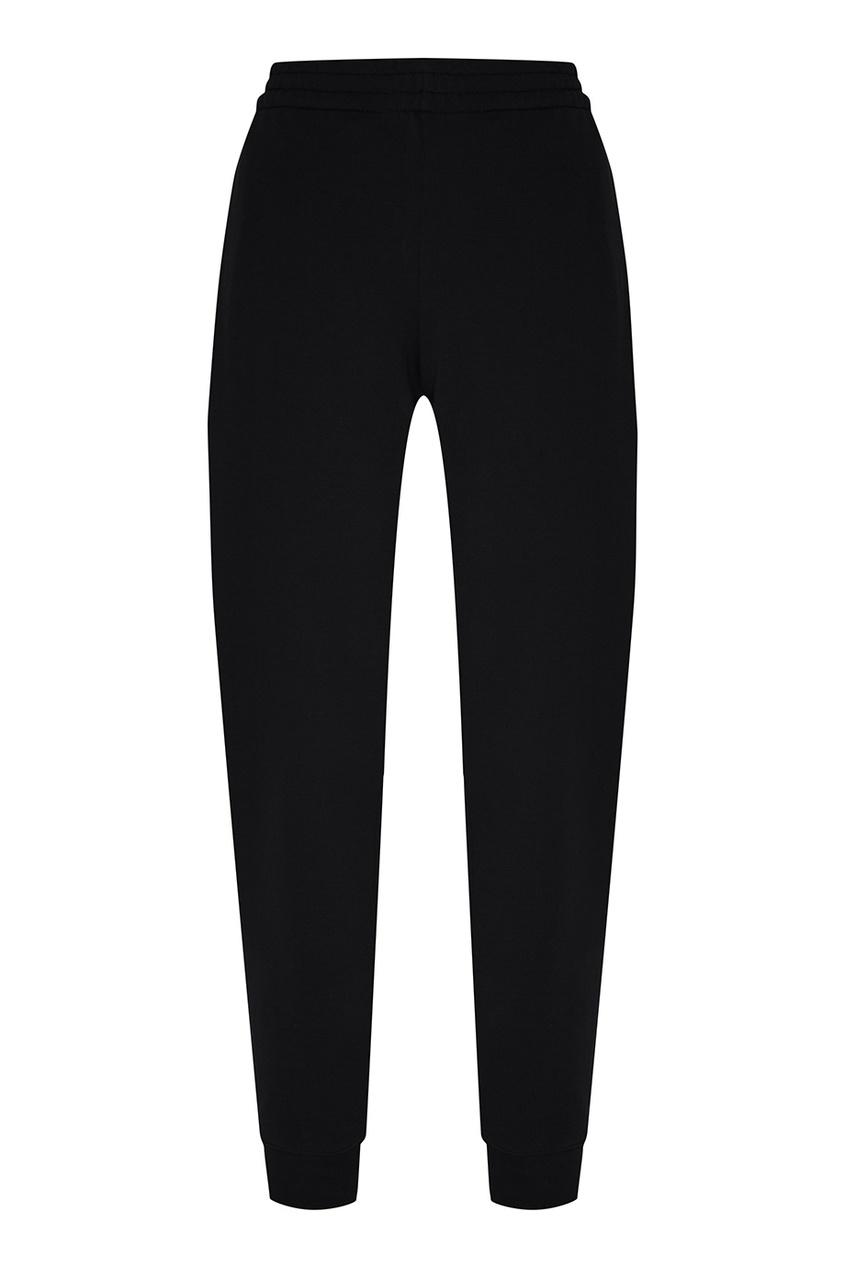 Terekhov Girl Черные брюки в спортивном стиле terekhov girl платье с воланами по бокам