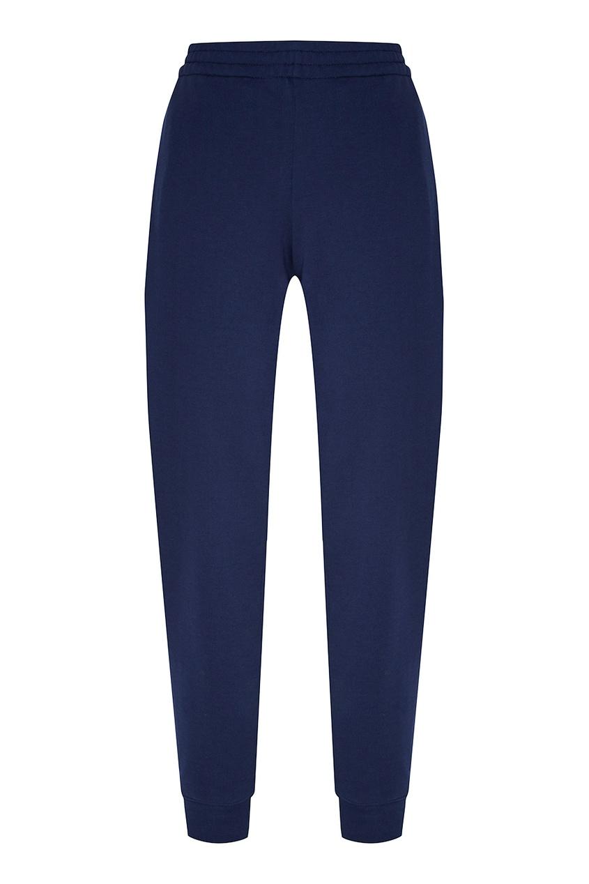 Terekhov Girl Синие брюки с эластичным поясом terekhov girl платье с воланами по бокам