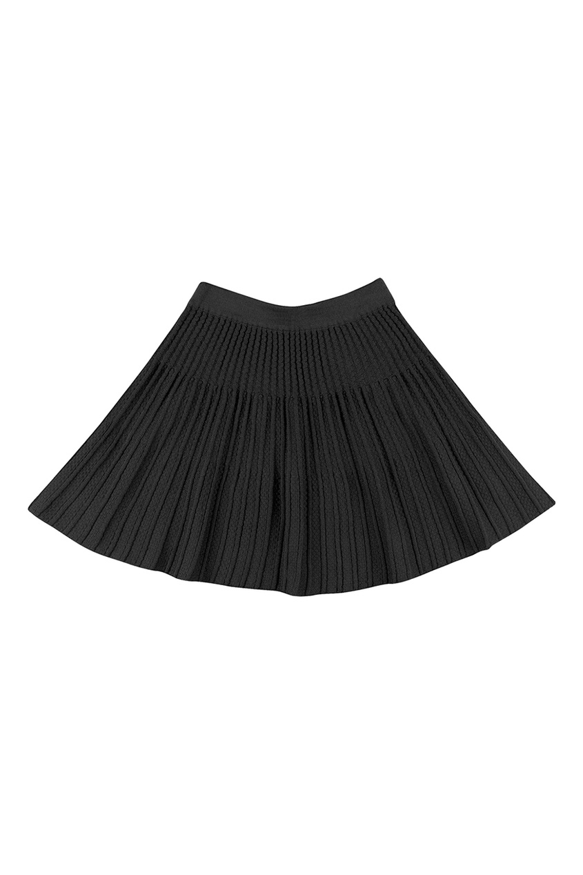 Jacote Черная трикотажная юбка юбка трикотажная