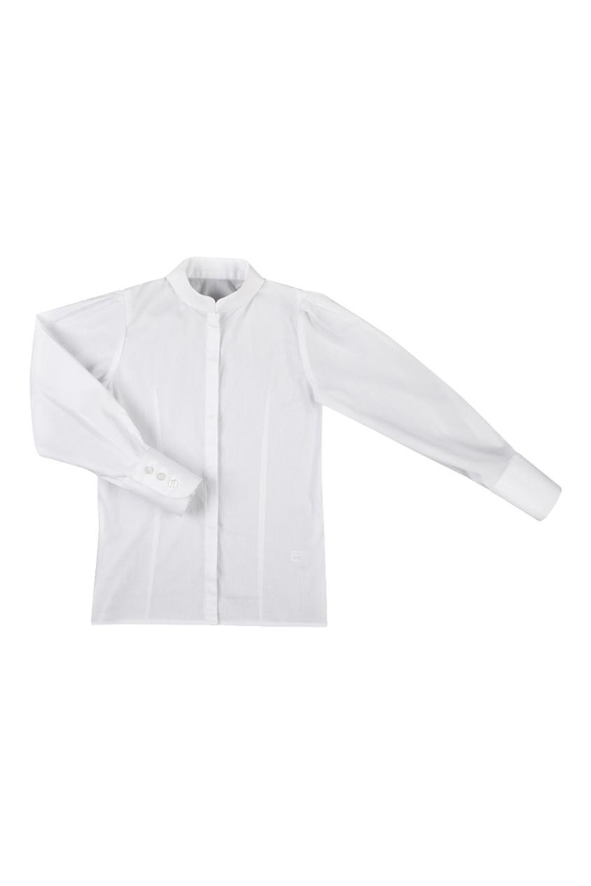 Белая хлопковая рубашка от Jacote