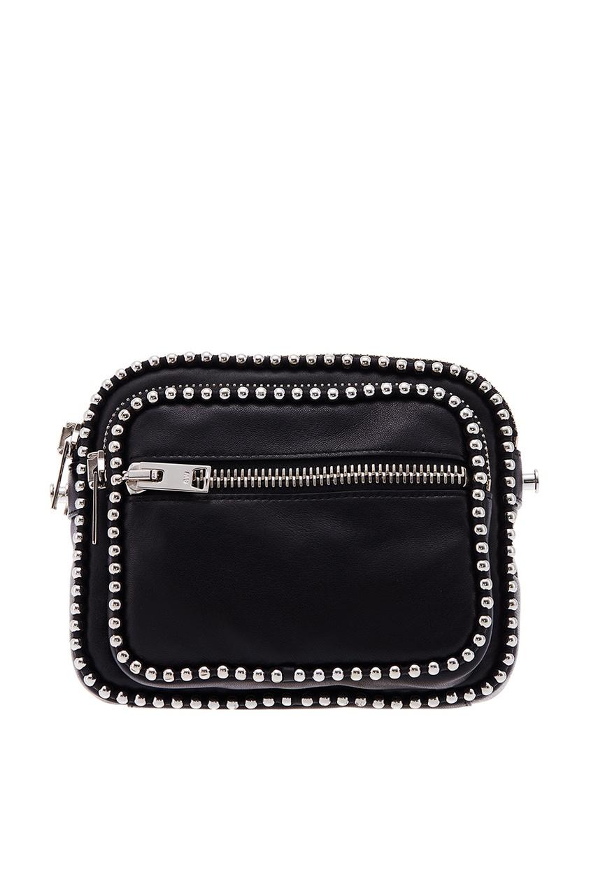 женская сумка alexander wang, черная