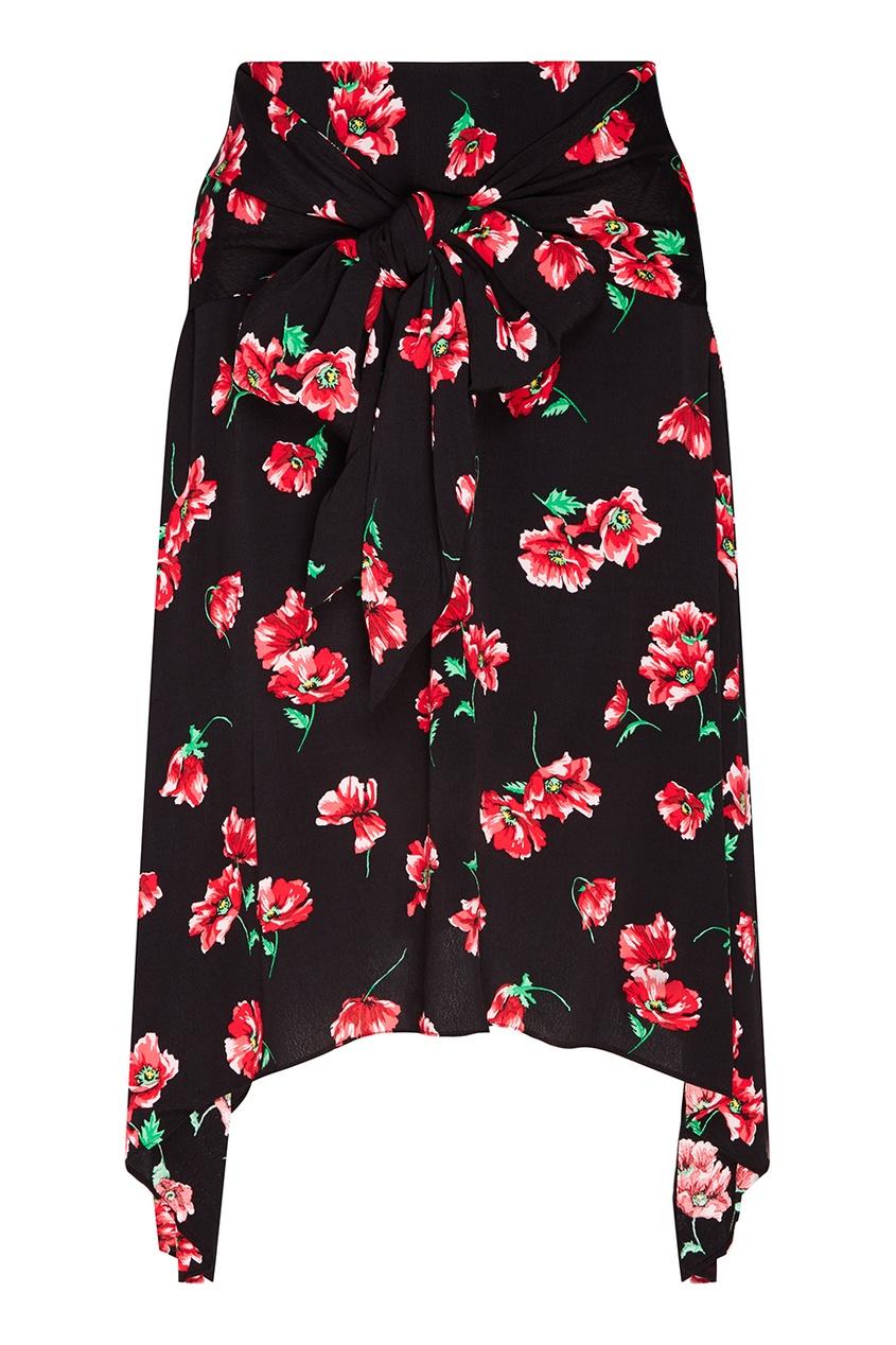 MO&Co Юбка с цветочным принтом юбка mo