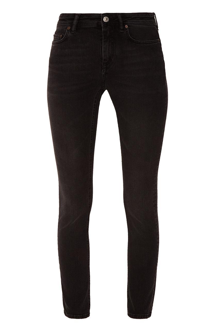 Acne Studios Зауженные черные джинсы джинсы acne studios джинсы бойфренды