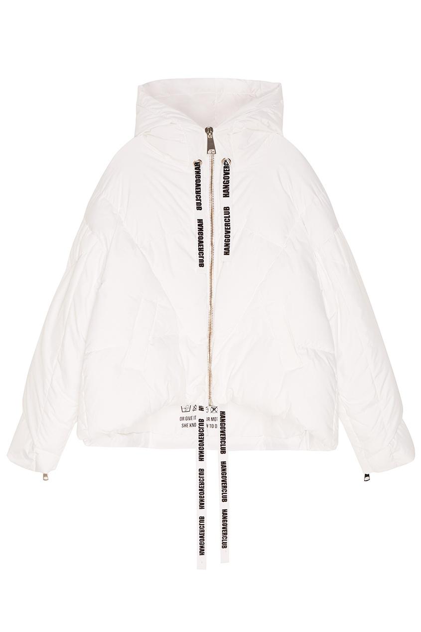 Khrisjoy Белая зимняя куртка