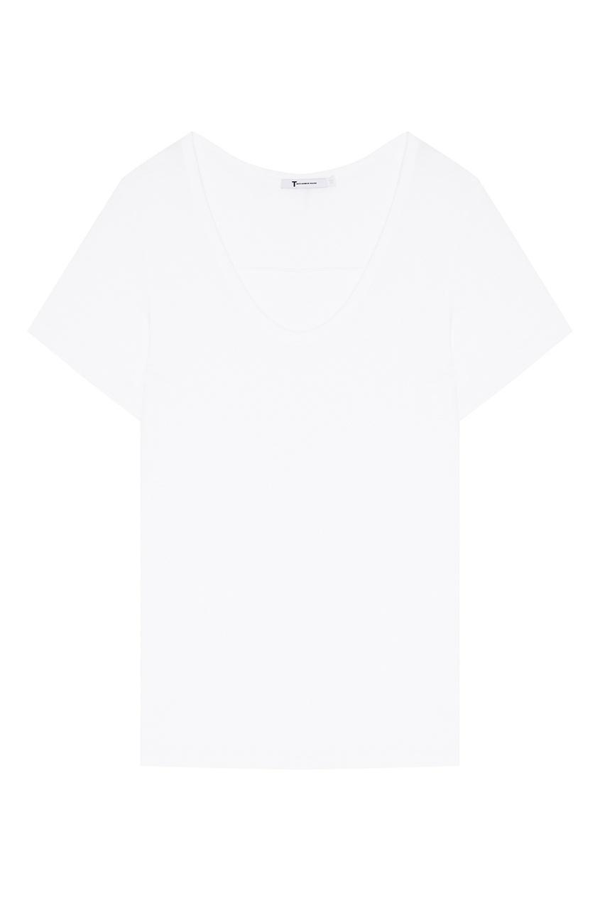 T by Alexander Wang Белая футболка t by alexander wang легинсы